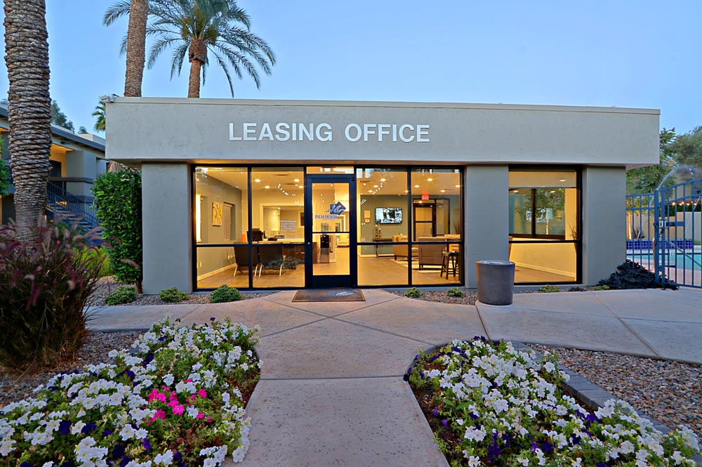 Leasing Office Exterior